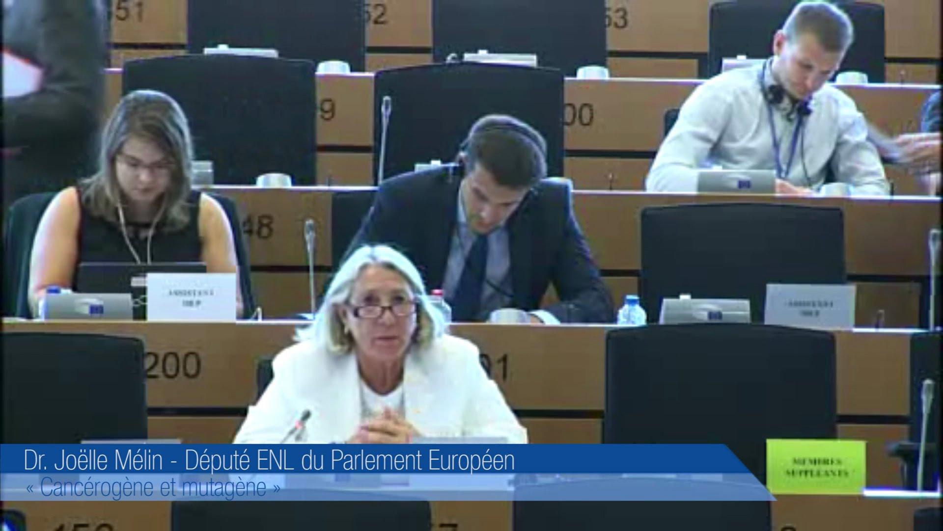 Joëlle Mélin intervient en commission parlementaire 2 Ralph Horvath