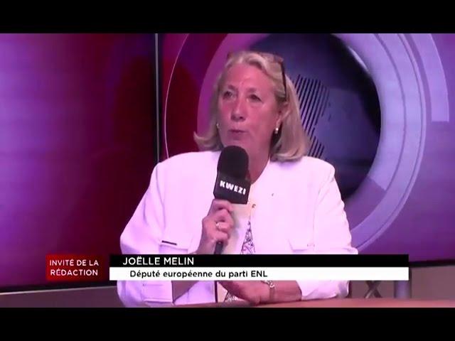 Joëlle Mélin intervient sur Kwezi TV Ralph Horvath