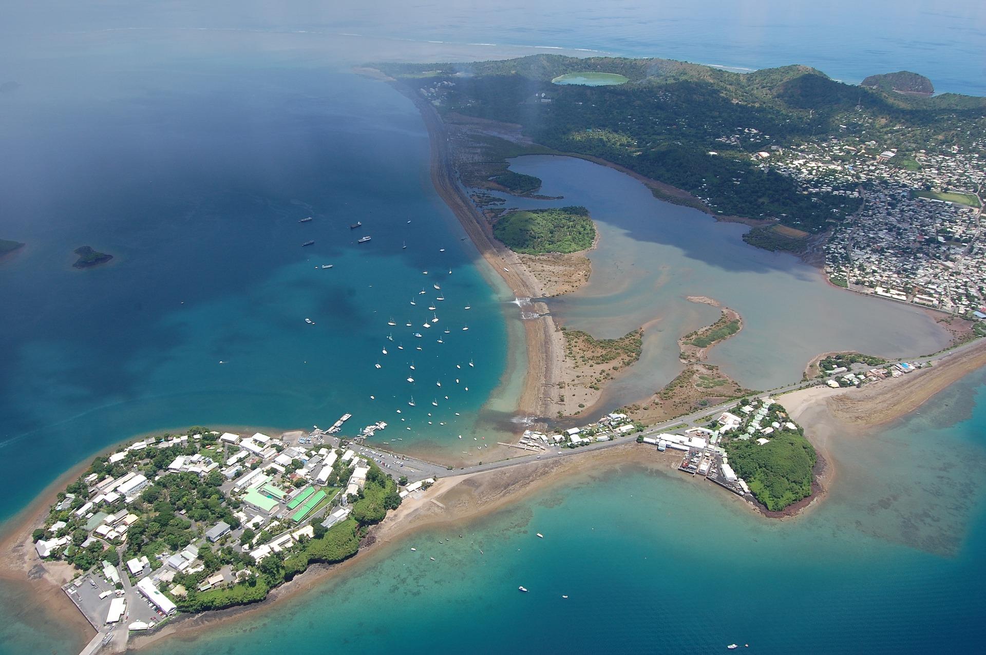 Vue aérienne de Mayotte Ralph Horvath