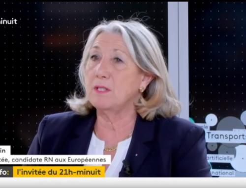 Interview France Info TV du 26 mars 2019