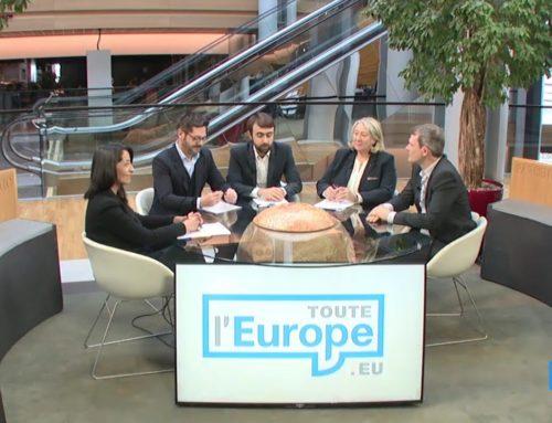 Débat en vue des élections européennes
