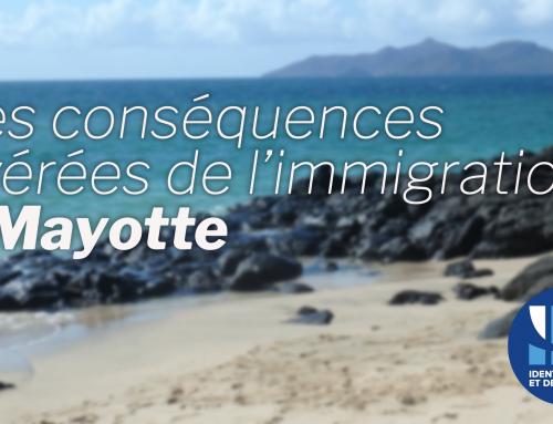 Les conséquences avérées de l'immigration à Mayotte