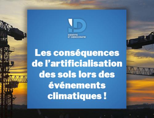 Les conséquences de l'artificialisation des sols lors des événements climatiques !