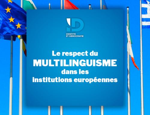 Respect du multilinguisme dans les institutions européennes