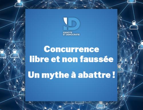 Concurrence libre et non faussée : Un mythe à abattre !
