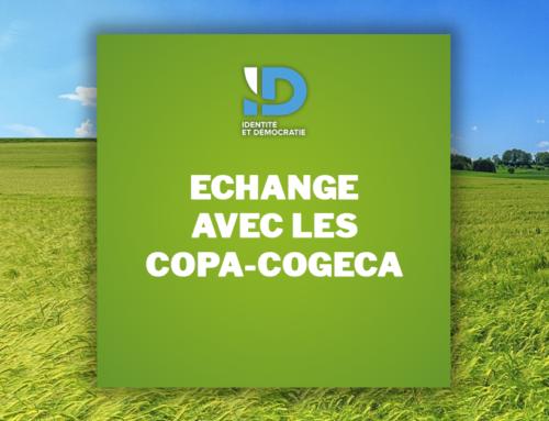 Echange avec les COPA-COGECA pour une vision à l'échelle européenne