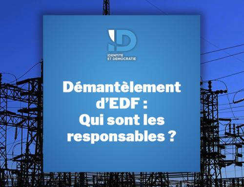 Le démantèlement d'EDF : volonté de l'Etat français ou injonction de la Commission européenne ?