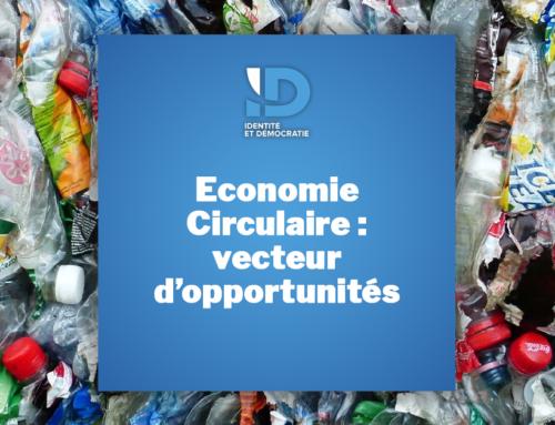 Economie circulaire : véritable opportunité pour notre industrie, nos emplois et nos consommateurs