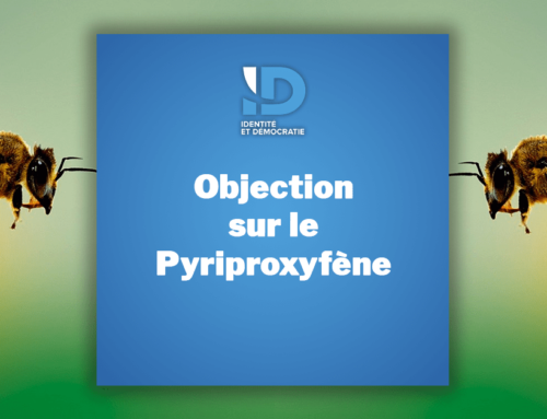 Objection sur le pyriproxyfène