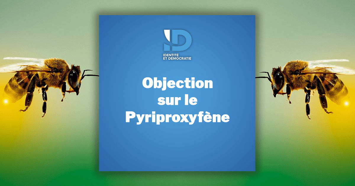 Objection pyriproxyfène Ralph Horvath