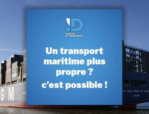 Un transport maritime plus propre ? C'est possible !