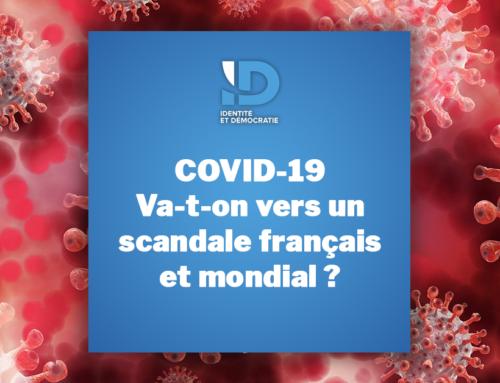 COVID19 : va-t-on vers un scandale français et mondial ?