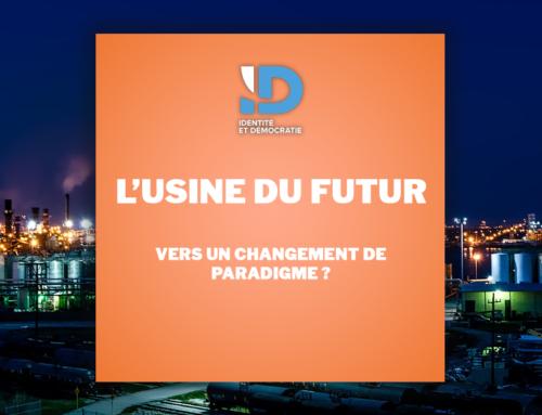 L'usine du futur : vers un changement de paradigme ?