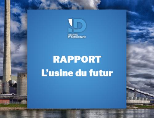 Rapport : L'usine du futur