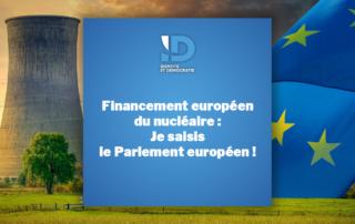 Centrale nucléaire et drapeau de l'union européenne Ralph Horvath