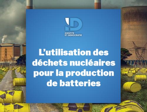 L'utilisation des déchets nucléaires pour la production de batteries
