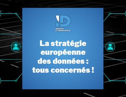 La stratégie européenne des données : tous concernés !