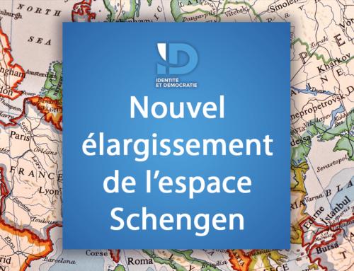 Nouvel élargissement de l'espace Schengen