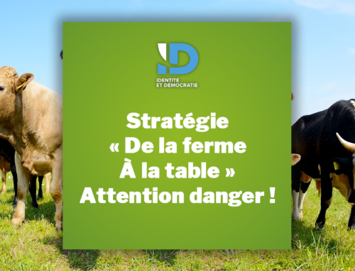 Stratégie » De la ferme à la table » : Attention danger !